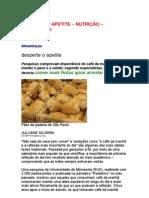 Desperte o apetite - Julliane Silveira - nutrição - nutrologia - alimentos