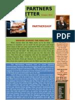 Agape Newsletter October 2015