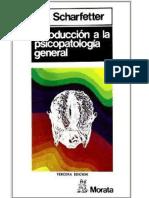Introduccion a La Psicopatologia General - Scharfetter