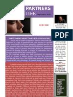 Agape Newsletter September 2015