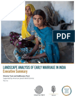 Early Child Marriage in India---good Point in Article