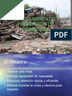 Manejo Ambiental y Prevención de Desastres