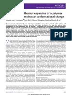 large negative thermal expansion
