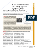 direct growth of nanotubes porous platform orr