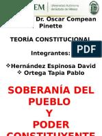 Exposición_Soberanía y Poder Constituyente