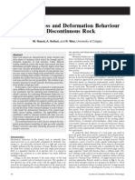 SPE-140119-PA_Joint Stiffness and Deformation Behaviour of Discontinuous Rock