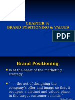 Brand Positioning Chapter 3