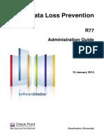 CP R77 DataLossPrevention AdminGuide