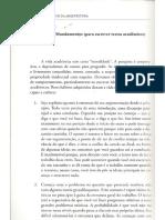 Dez Mandamentos Para Textos Academicos - Frederico de Holanda