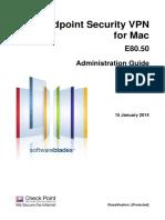 CP E80.50 EndpointSecurityVPN ForMac AdminGuide