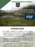 Efecto Del Cambio Climatico en La Cuenca Del Rio Tabaconas Cajamarca-091204140020-Phpapp02