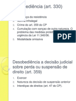 Direito Penal IV - Apresentações