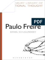 Daniel Schugurensky Paulo Freire Bloomsbury Library of Educational Thought