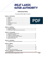 GLWA Procurement Policy Adopted 10.21.2015
