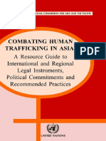 United Nations-Combating Human Trafficking in Asia_ a Resource Guide to International and Regional Legal Instruments, Political Commitments and Recommended Practices -United Nations (2004)