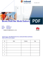 Site Model Indoor Brown Field_28UPD029_Perumnas Antang_ Indosat MBS Project_South Sulawesi Region