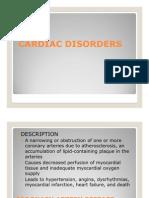 Cardiac Disorders 2010