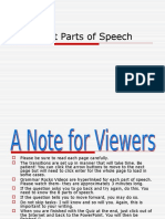 the eight parts of speech- final pp