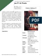 Federico Guillermo IV de Prusia - Wikipedia, La Enciclopedia Libre