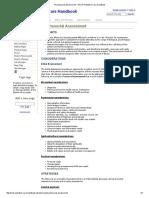 Psychosocial Assessment Palliative Care Hndbk