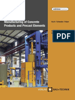 Helmut Kuch, Jörg-Henry Schwabe, Ulrich Palzer-Manufacturing of concrete products and precast elements processes and equipment