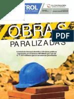 253426255 Obras Paralizadas Control Boletin Institucional Contraloria General de La Republica Del Peru
