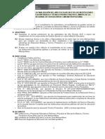 Orientaciones Finalizacion Año Escolar 2015 Bb