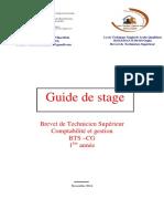 Guide de Stage Cg1 2014