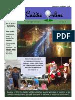 November December 2015 Edition of the Caddie Online
