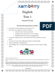 Examberry English Paper 1