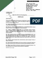 Documento de la Hipoteca Alejandro Murat