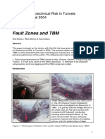 2004. Barton-Fault Zones and TBM. Risk in Tunnelling. Aveiro, Portugal