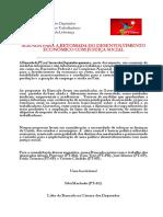 Propostas do PT para a Presidenta Dilma 2016