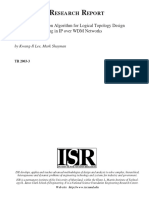 A Local Optimization Algorithm for Logical Topology Design and Traffic Grooming in IP Over WDM Networks - Glass