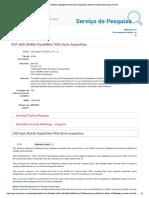 SAP Adds Mobile Capabilities With Syclo...Ition_ Sistema de Descoberta Para FCCN