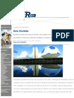 Reportagem da Revista Viver Brasil sobre a copa de 2014 em Brasília