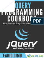 JQuery Programming Cookbook