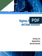 Ssga Regimes, Risk Factors, And Asset Allocation