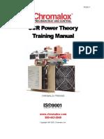 SCR Training Manual (Chromalox)