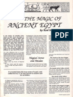 The Magic of Ancient Egypt
