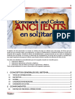 Reglas C&C Ancients en Solitario