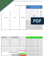 Matriz de Capacitación Supervisor de Mantenimiento Eléctrico - PLUSPETROL