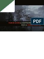 Plan de Acción y Mitigación Frente Al Cambio Climatico