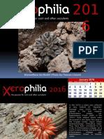 Xerophilia Calendar 2016 - 1