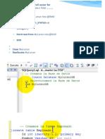 Cursor en SQL SERVER