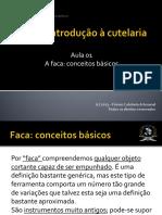 Curso Básico de Cutelaria - FCA