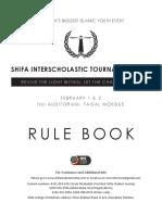 Sist 14 Rulebook