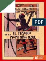 El tesoro de la montana azul - Emilio Salgari.pdf