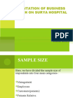 ppt of BR on hospital sector
