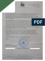 msraya edited recommendation letter